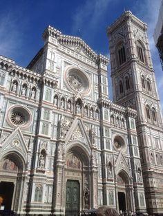 La cathédrale Santa Maria del Fiore (Sainte-Marie-de-la-Fleur), Florence, Italie
