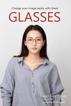cosmetic surgery with glasses #cosmetic surgery#image change#glasses#gorgeou