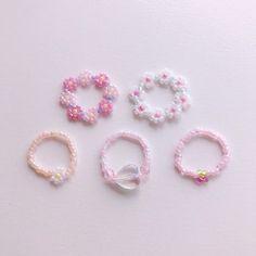 Diy Jewelry, Beaded Jewelry, Jewellery, Beaded Rings, Seed Beads, Tictac, Stud Earrings, Jewels, Creative