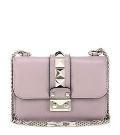 Lock Mini powder pink leather shoulder bag 1550€