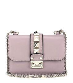 Lock Mini powder pink leather shoulder bag 1550€
