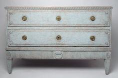 Antique Swedish chest. Nikki Page Antiques
