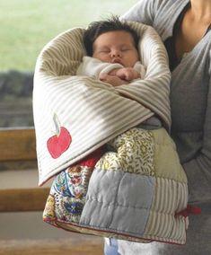 Looks so comfy.....i want o e for me   Snuggle Me Baby Sleeping Bag