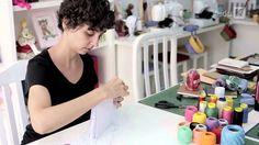Encadernação manual: criando capas e costuras, com Luisa Gomes Cardoso. Dias 2, 3 e 4 de abril, online e gratuito na EduK!