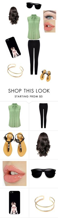 Untitled #32 by tais-943 on Polyvore featuring Warehouse, Amenapih and Samsung