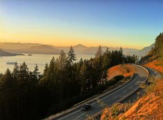"""Highway 99 """"Sea to Sky Highway"""" — British Columbia, Canada   16 Spectacular Roads You Need To Drive On Before You Die"""