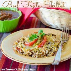 Beef Fajita Skillet