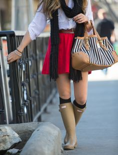tumblr+hunter+rain+boots+2013 | Hunter Rain Boots - Oh The Savoir Faire