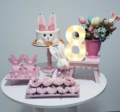 [New] The Best Home Decor (with Pictures) These are the 10 best home decor today. According to home decor experts, the 10 all-time best home decor. Easter Bunny Cake, Bunny Birthday, Little Girl Birthday, Easter Party, Birthday Party Decorations, Party Themes, Wedding Decorations, Birthday Parties, Party Ideas