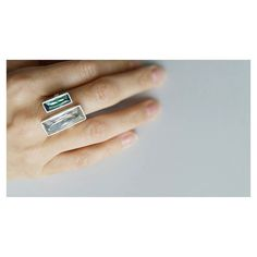 Pincelada de cor. Cristal Erinite [Compras via direct] #copella #swarovski #anel #prata925 #design #moda