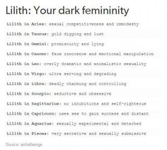Lilith: Your Dark Femininity My: Libra Le Zodiac, Zodiac Signs Horoscope, Zodiac Star Signs, Zodiac Sign Facts, My Zodiac Sign, Zodiac Quotes, Aquarius Quotes, Astrology Numerology, Astrology Chart