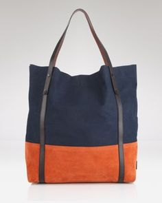 Gorgeous. Burberry Color-Block Tote