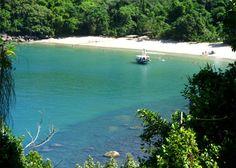 Praia Martim de Sá, Caraguatatuba, Brasil - Martim de Sá Beach, Brazil