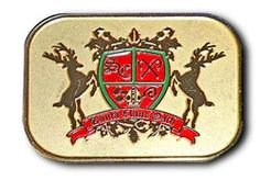 Santa Claus Oath Lapel Pin. All proceeds go help support the efforts of the Santa Claus Drill Team.