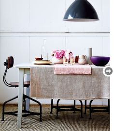 Love these colours...perfection!  Prop styling by Lara McGraw; Photography by Edward Pond for Style at Home