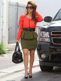 Kourtney Kardashian - Kim & Kourtney Kardashian Support The Miami Economy