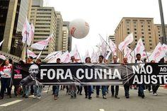 Manifestações em cidades brasileiras pedem saída de Cunha (foto: Rovena Rosa / Agência Brasil)
