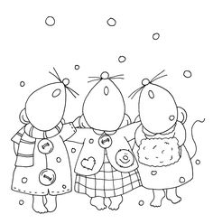 free christmas singers digi stamp | Posted by Mary Ellen Smith at 1:31 AM 11 comments: