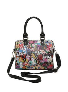 Loungefly Disney Alice In Wonderland Tossed Character Barrel Bag, Alice In  Wonderland Accessories, Disney df26e9d08f