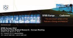 SFRR Europe 2013 Society for Free Radical Research - Europe Meeting 아테네 유럽 활성산소 회의