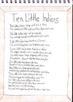 """10 little Indians - and then there were none - ahh the plot of Agatha Christie's """"And Then There Were None!"""" Crazy good/creepy book!"""