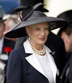 Princess Michael of Kent; she can wear hats