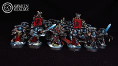 CoolMiniOrNot - Space Wolves Blood Claws with Krom by Awaken Realms
