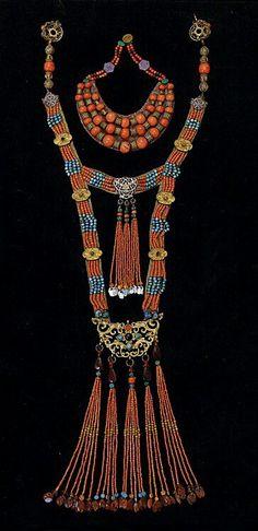 Mongolian jewelry
