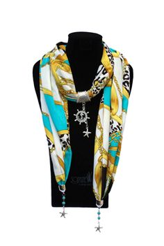 """Sophie by Indesign Studios is launching a """"Made in the USA"""" category of its incredibly popular Jeweled Scarves."""