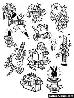 nautical tatto lineart - Google Search