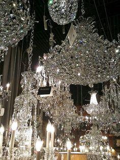 crystal cheandeliers