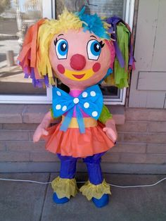 Piñatas - Clown Piñata by Carlos custom pinatas Clowns For Birthday Parties, Circus Birthday, Baby First Birthday, Birthday Party Themes, Clown Party, Circus Party, Toy Story Party, Mexican Party, Ideas Para Fiestas