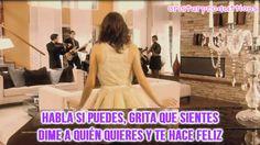 Violetta-Habla si puedes-Video y letra!