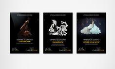 Associazione Tre Colli  Progetto logo e comunicazione grafica eventi Mondolfo Divino, Le Contrade in Festa, Chiostro Teatro e Birra a Palla Manifesti affissione 70×100 cm e 6×3 m, Volantini bifacciali, Pagine pubblicitarie per testate giornalistiche, Folder sponsor