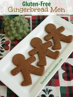 Gingerbread Men (Grain Free) | The Gluten-Free Homemaker