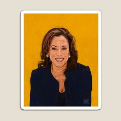 Senator Kamala Harris, the 2020 Democratic nominee for Vice President by Neil Feigeles  © 2019  I couldn't be happier! #JoeBiden U Rock! Of note, I updated the tilte of the illustration, from Democratic Candidate for President, to VP, once it was announced she was VP Joe Biden's pick.  #redbubble #redbubbleartist #ArtistOnTwitter   #KamalaHarris #KamalaHarrisForVP #Kamala #KamalaForVP #JoeBiden2020 U Rock, Kamala Harris, Vice President, Art Drawings Sketches, Joe Biden, Presidents, Photoshop, Future, Note