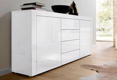 kommode wei mit schubk sten yourhome jetzt bestellen unter. Black Bedroom Furniture Sets. Home Design Ideas