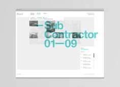 #website design http://www.madebysix.com/