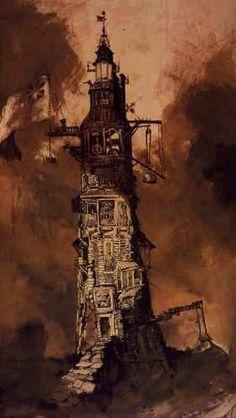 Victor Hugo, 3ème et dernière partie : son oeuvre picturale | ღ♥ღ Les Arts ღ♥ღ