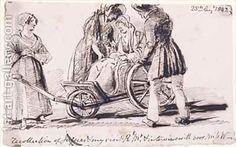 Dorothy Wordsworth 1771-1855 in a Wheelchair, John Harden