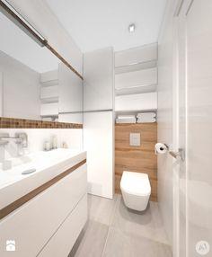 Łazienka - Styl Minimalistyczny - A1Studio