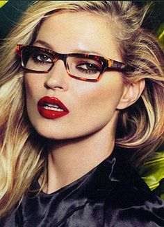 VOGUE Eyewear Spring 2011 Ad Campaign Photographer: Mario Testino Model: Kate Moss (VO2596)