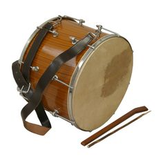 "Tupan Drum, 16"", Bolt Tuned"