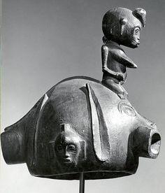 Helmet Mask with Female Figure  Senufo