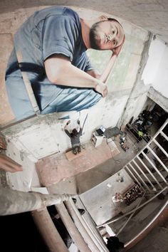 James Bullough – On the Shoulders of Giants... Urban Art Core!