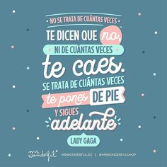 Motivational Phrases, Inspirational Quotes, Mister Wonderful, Positive Vibes, Positive Quotes, Wonder Quotes, Great Words, Spanish Quotes, Monday Motivation