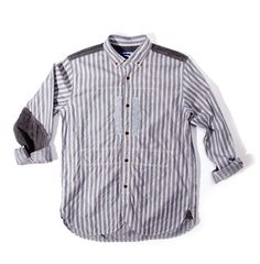 CDG Multi Stripe B.D. Shirt