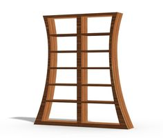 Bookcase Set 92 inches tall 6 shelf Wood Custom  The by MapleBear, $795.00