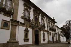 El convento de Santa Clara en Guimaraes