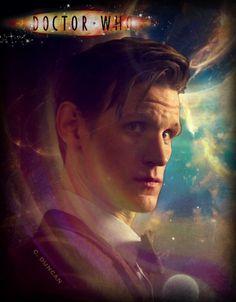 - 11th Doctor photo edit created by Cheryl Duncan~the Blue Box Beach Bum